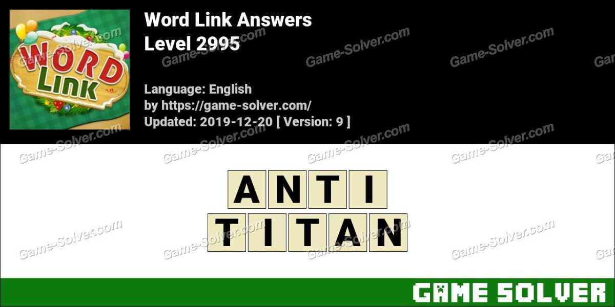 Word Link Level 2995 Answers