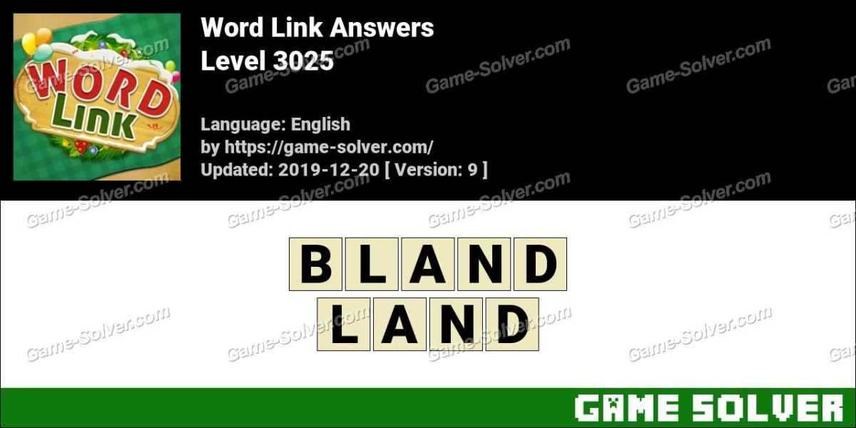 Word Link Level 3025 Answers