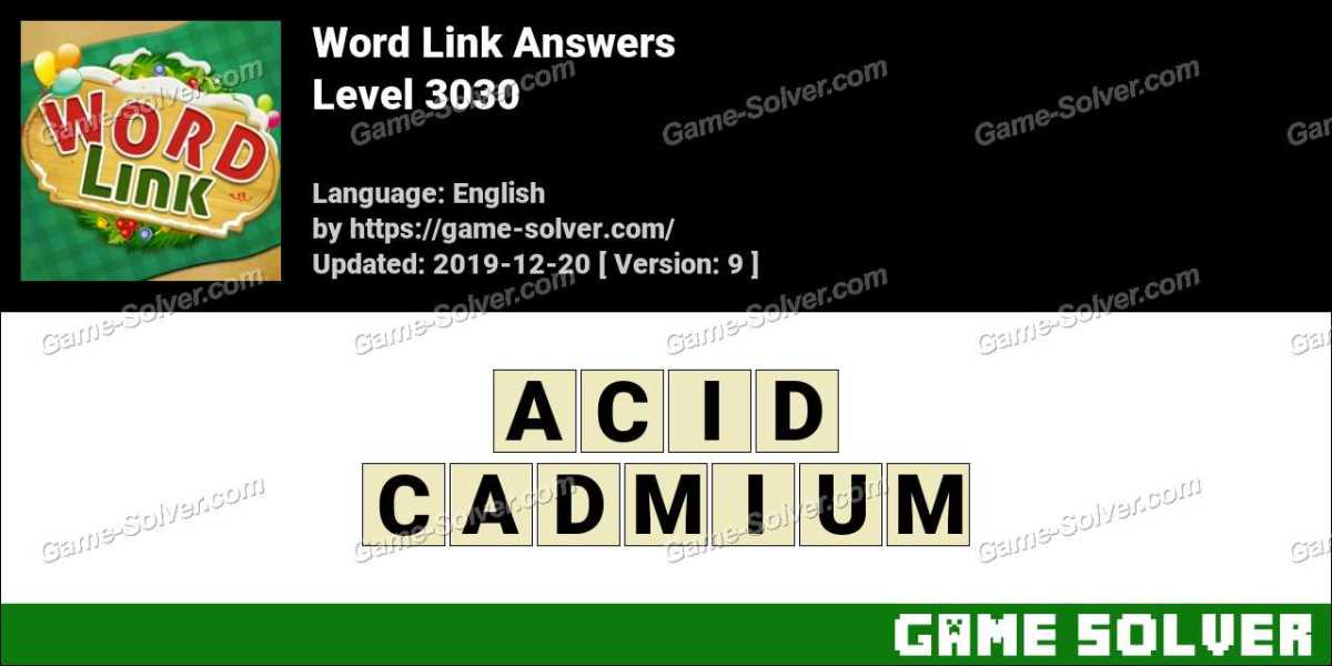 Word Link Level 3030 Answers