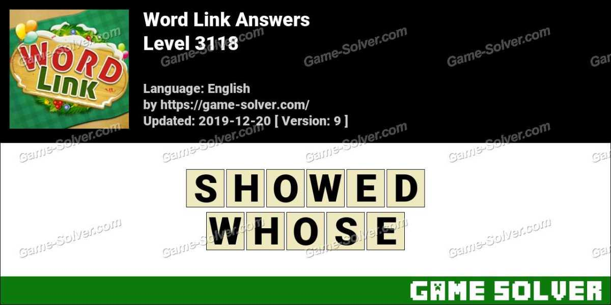 Word Link Level 3118 Answers