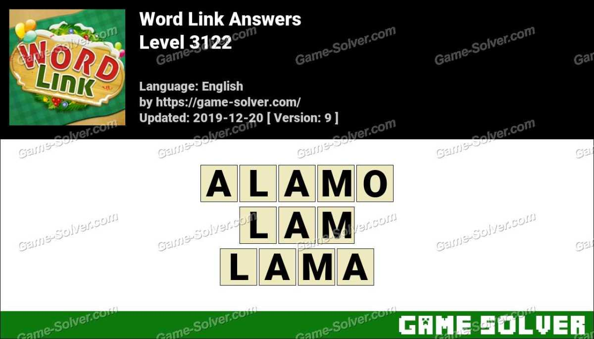 Word Link Level 3122 Answers