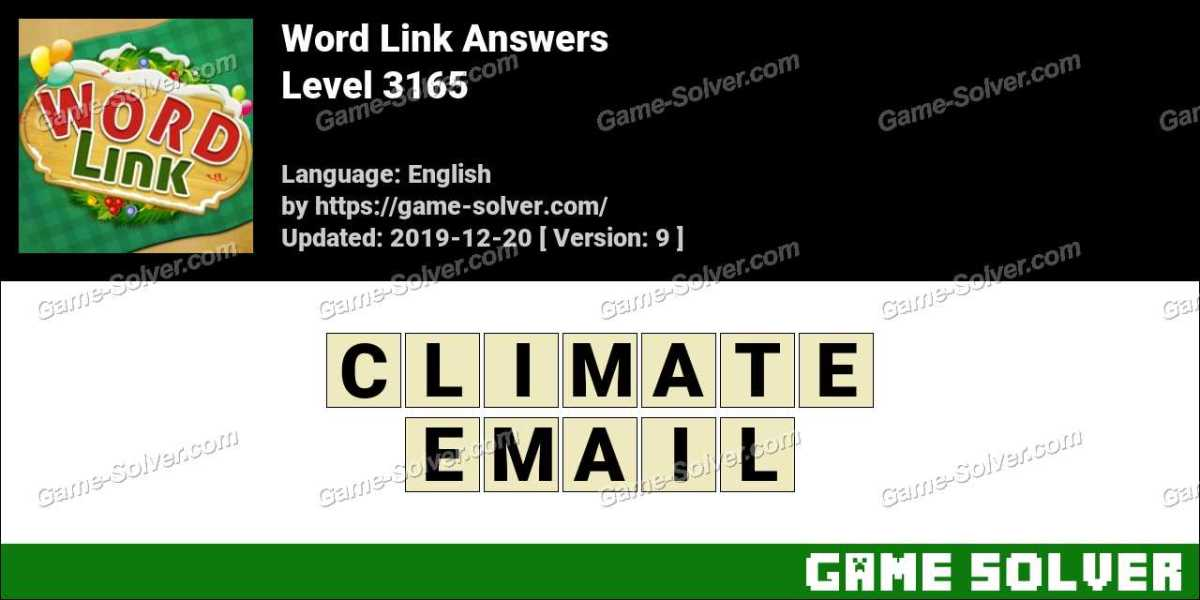 Word Link Level 3165 Answers