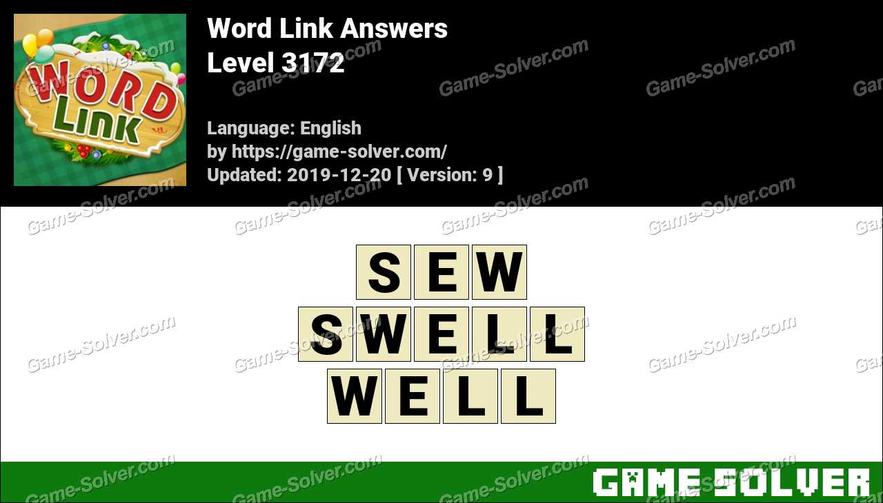 Word Link Level 3172 Answers