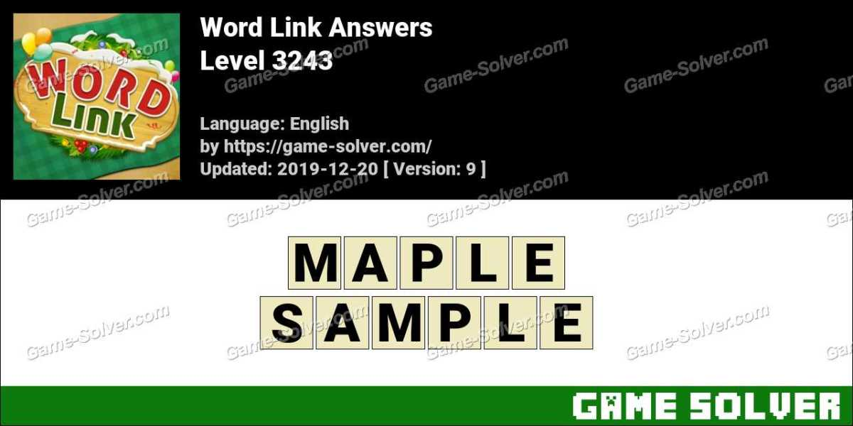 Word Link Level 3243 Answers