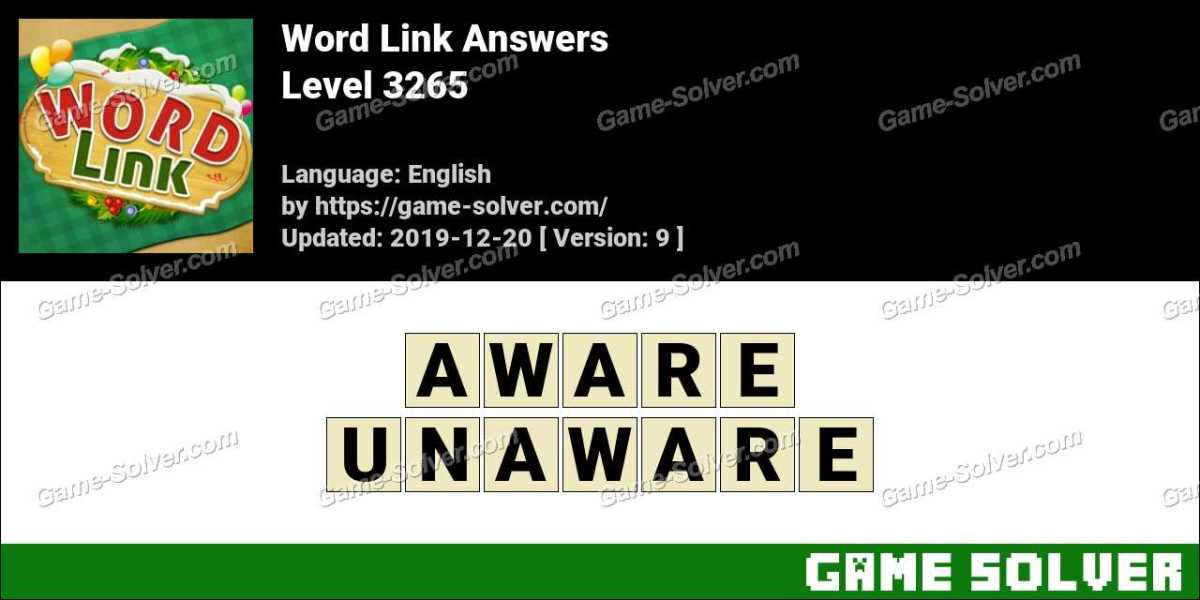 Word Link Level 3265 Answers