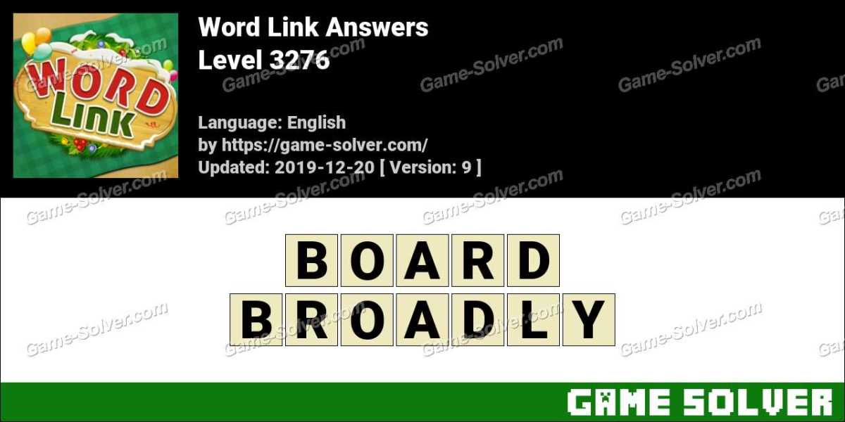 Word Link Level 3276 Answers