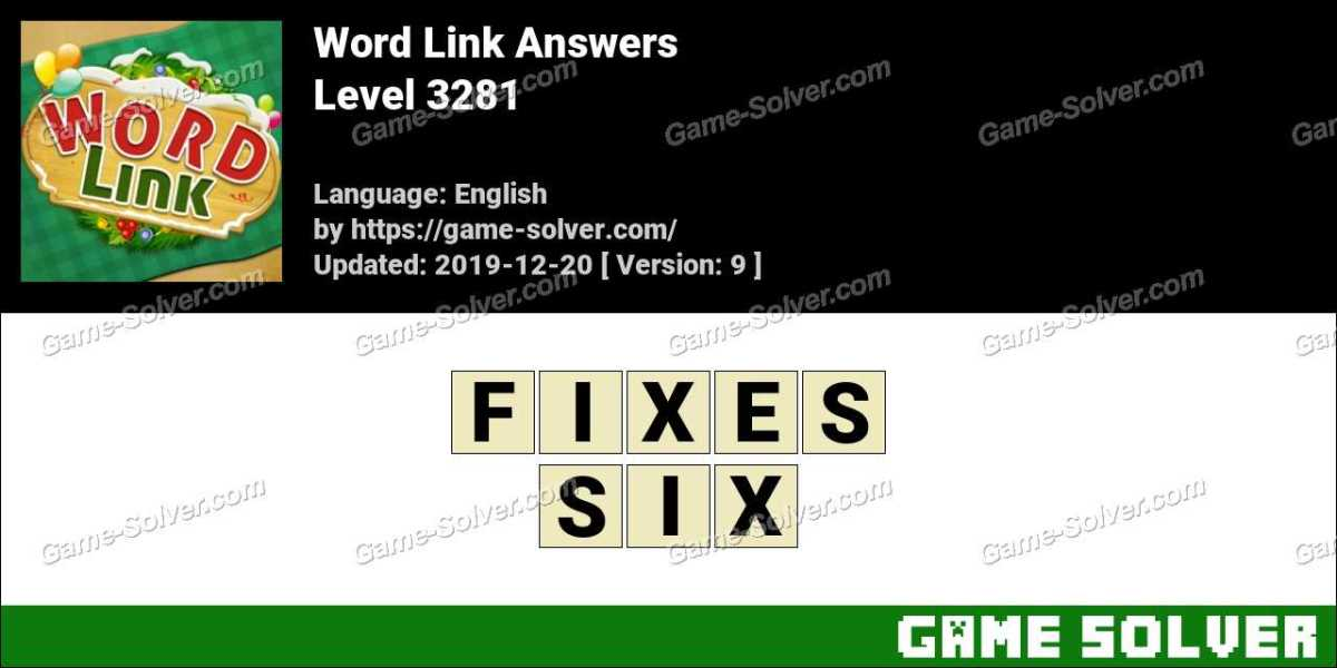 Word Link Level 3281 Answers