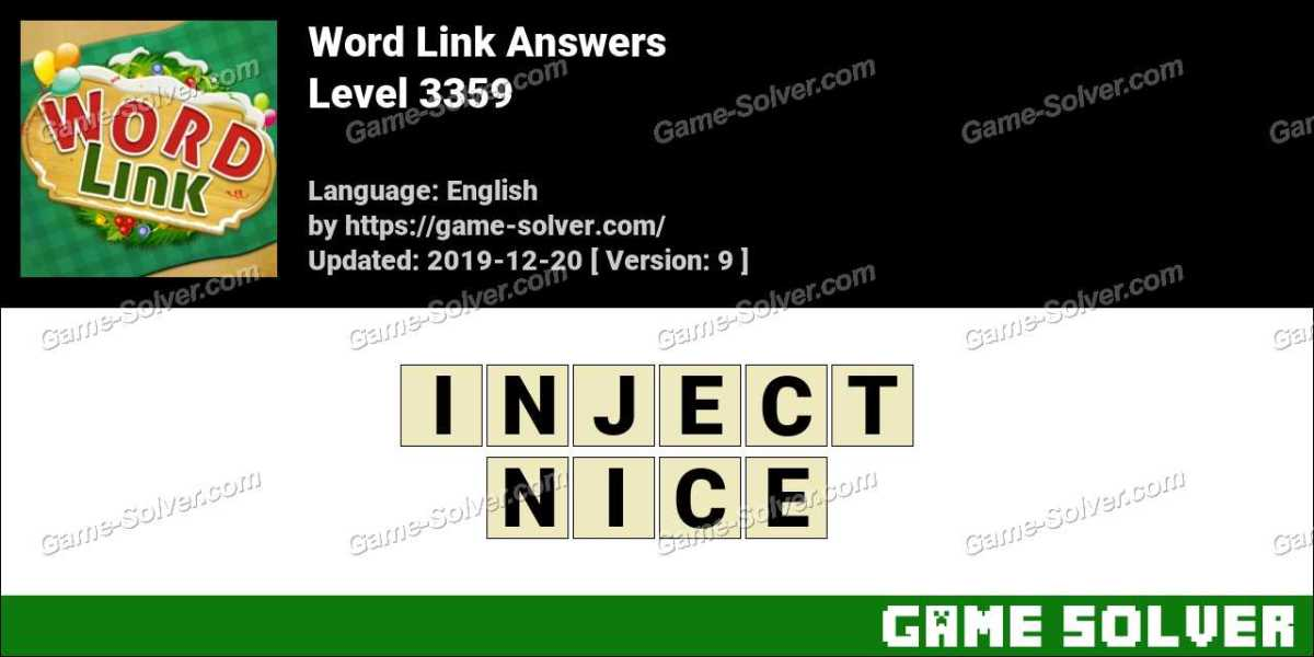 Word Link Level 3359 Answers