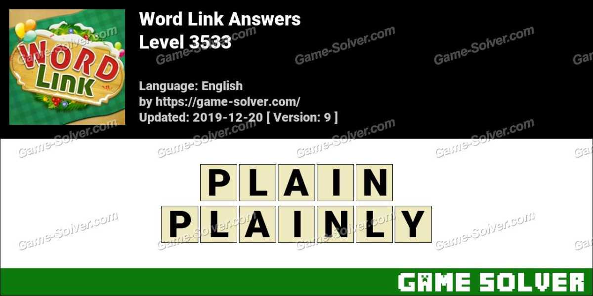 Word Link Level 3533 Answers