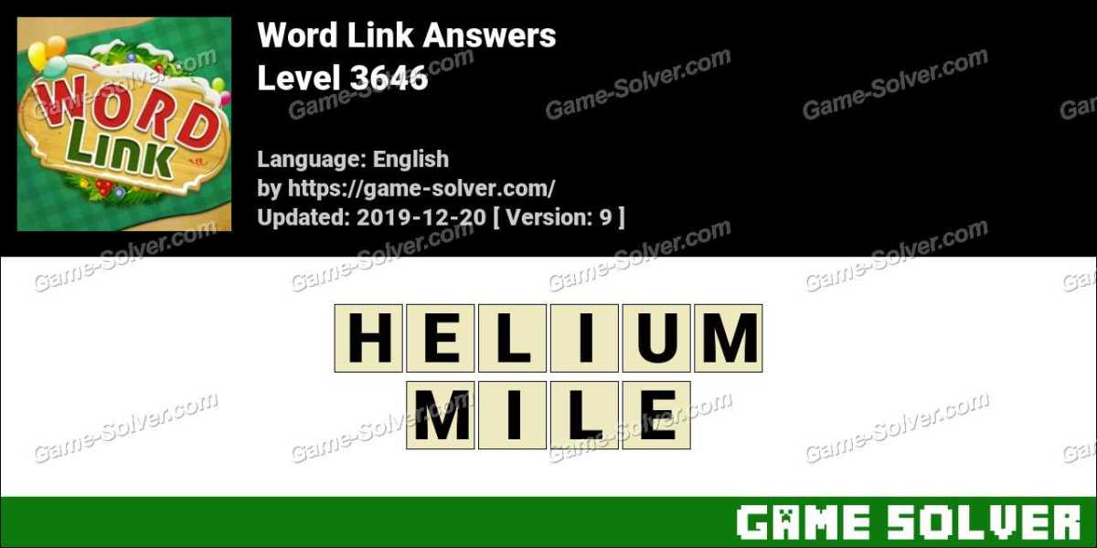 Word Link Level 3646 Answers