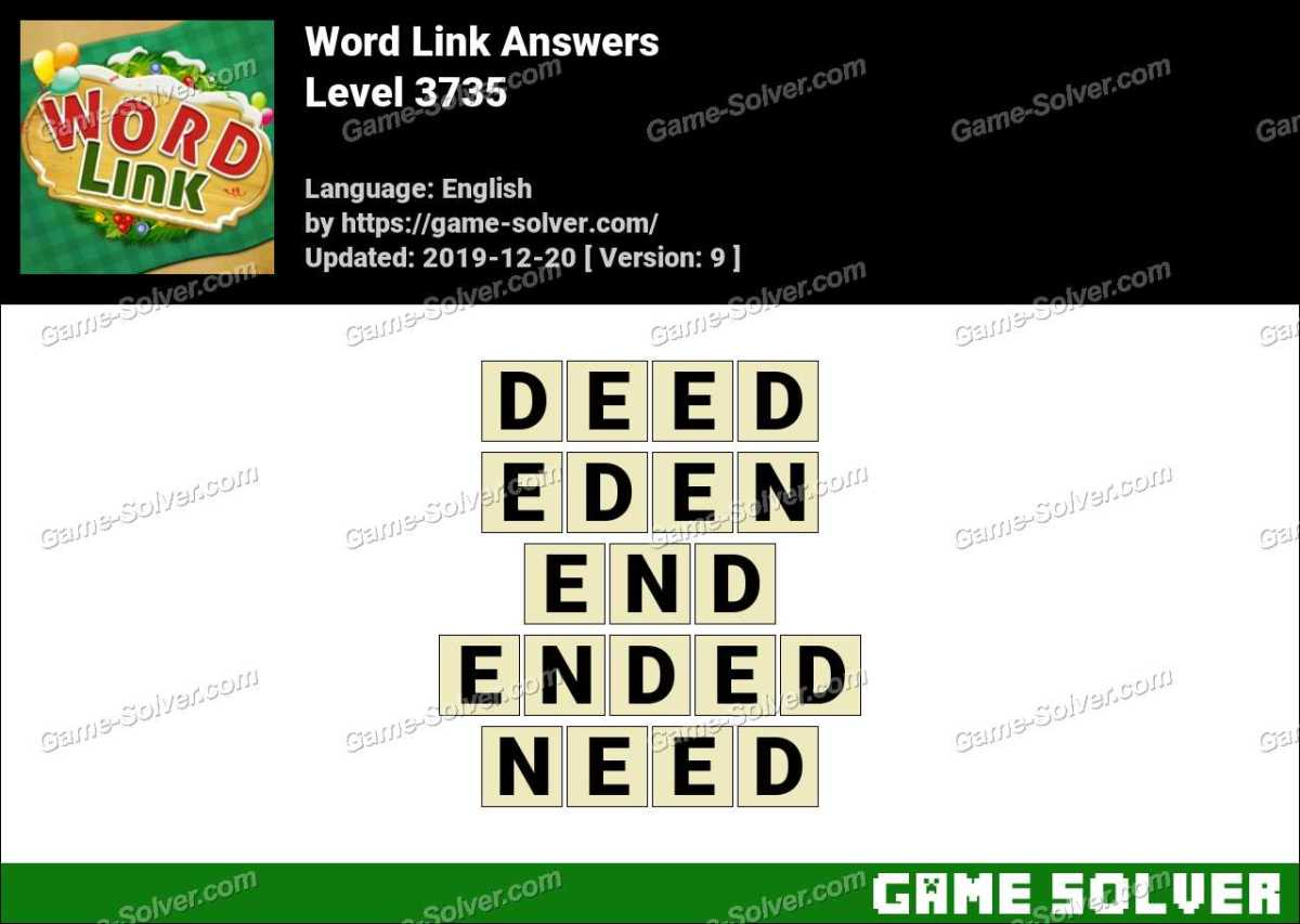 Word Link Level 3735 Answers