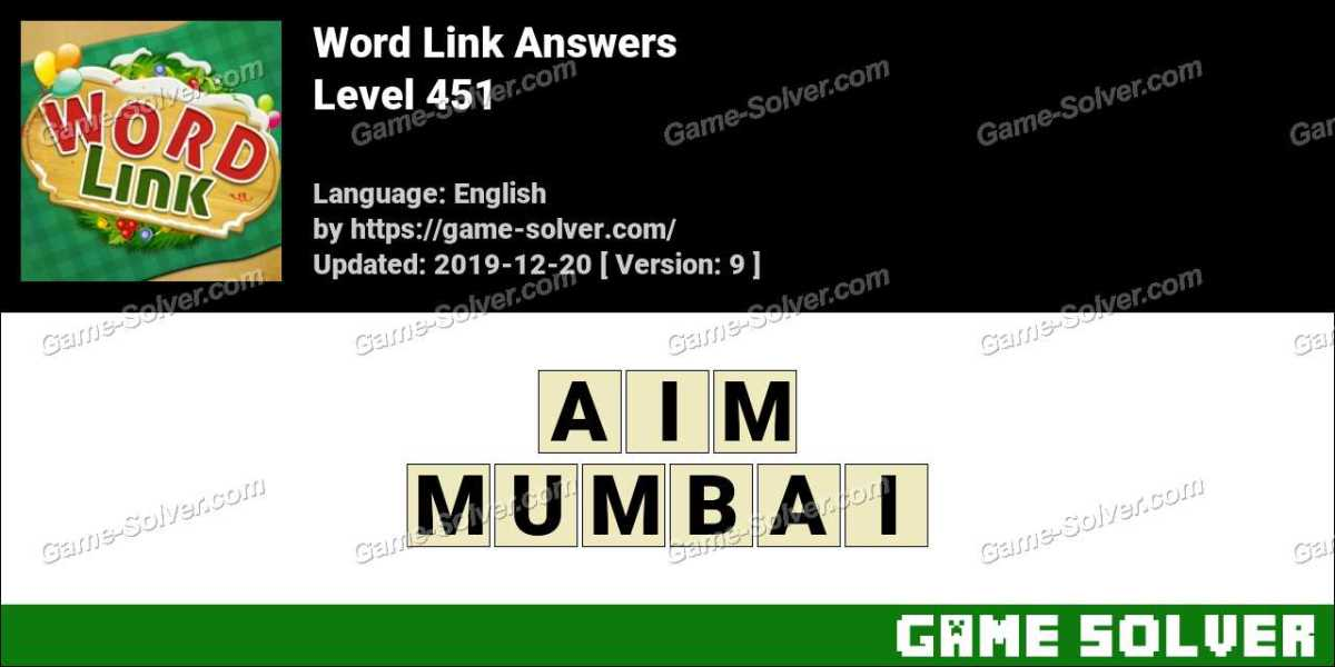 Word Link Level 451 Answers