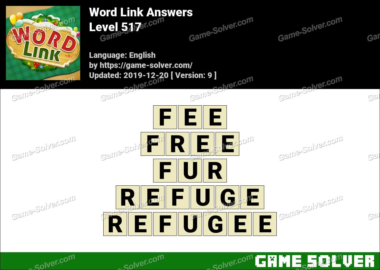 Word Link Level 517 Answers