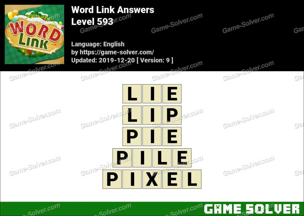 Word Link Level 593 Answers