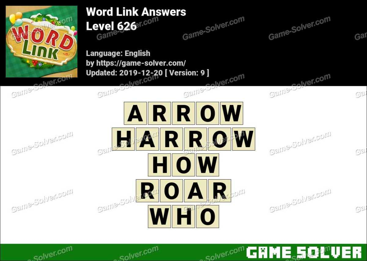 Word Link Level 626 Answers