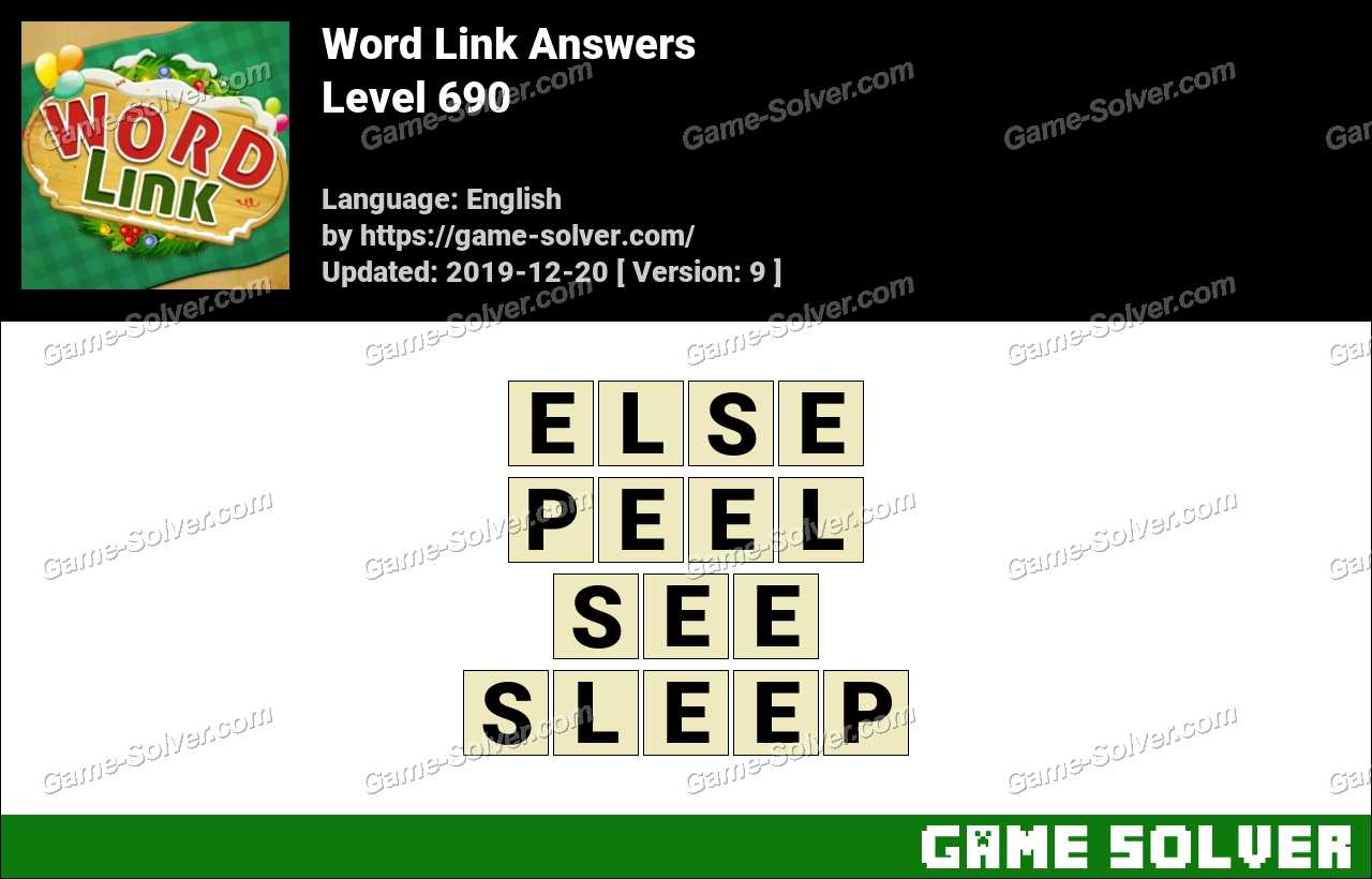 Word Link Level 690 Answers