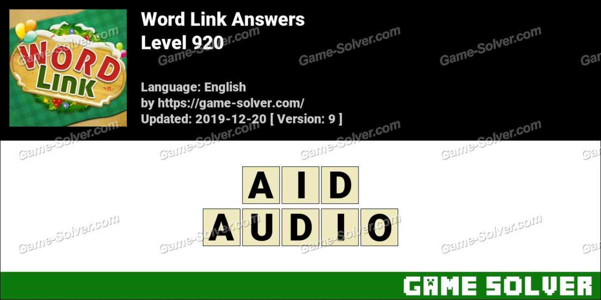 Word Link Level 920 Answers