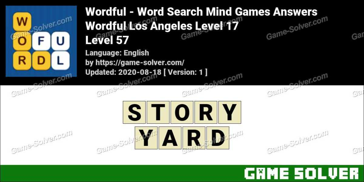 Wordful Los Angeles Level 17 Answers
