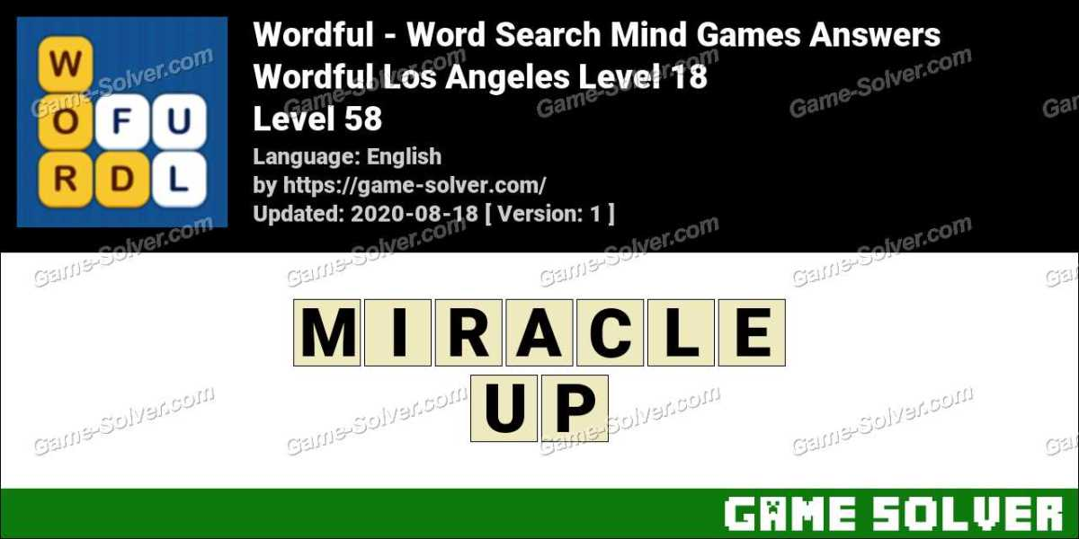 Wordful Los Angeles Level 18 Answers