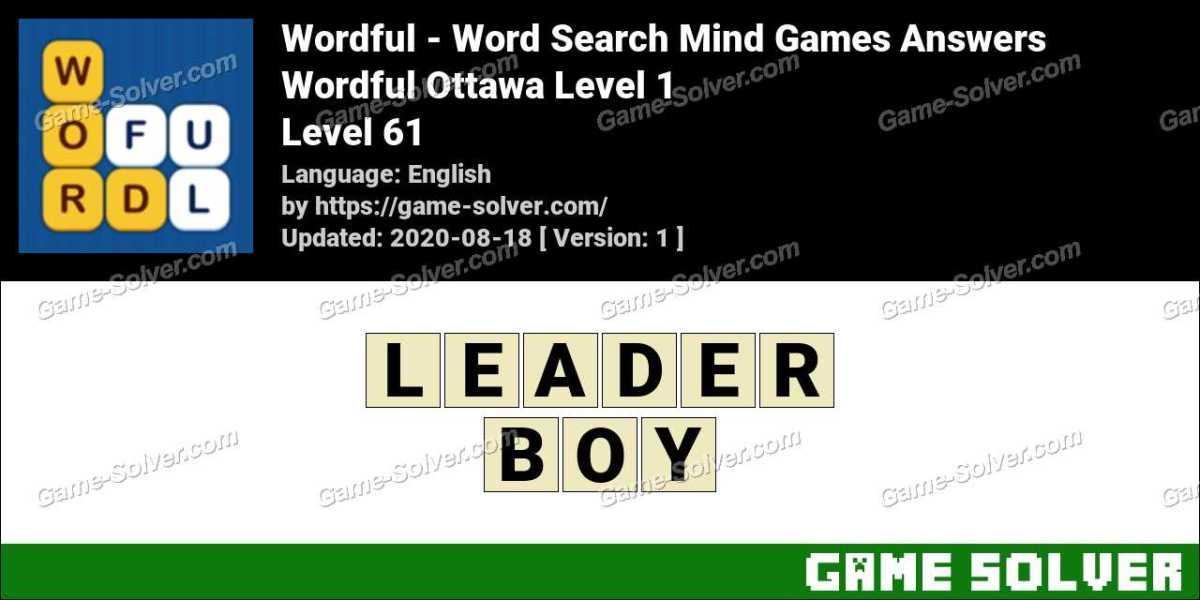 Wordful Ottawa Level 1 Answers