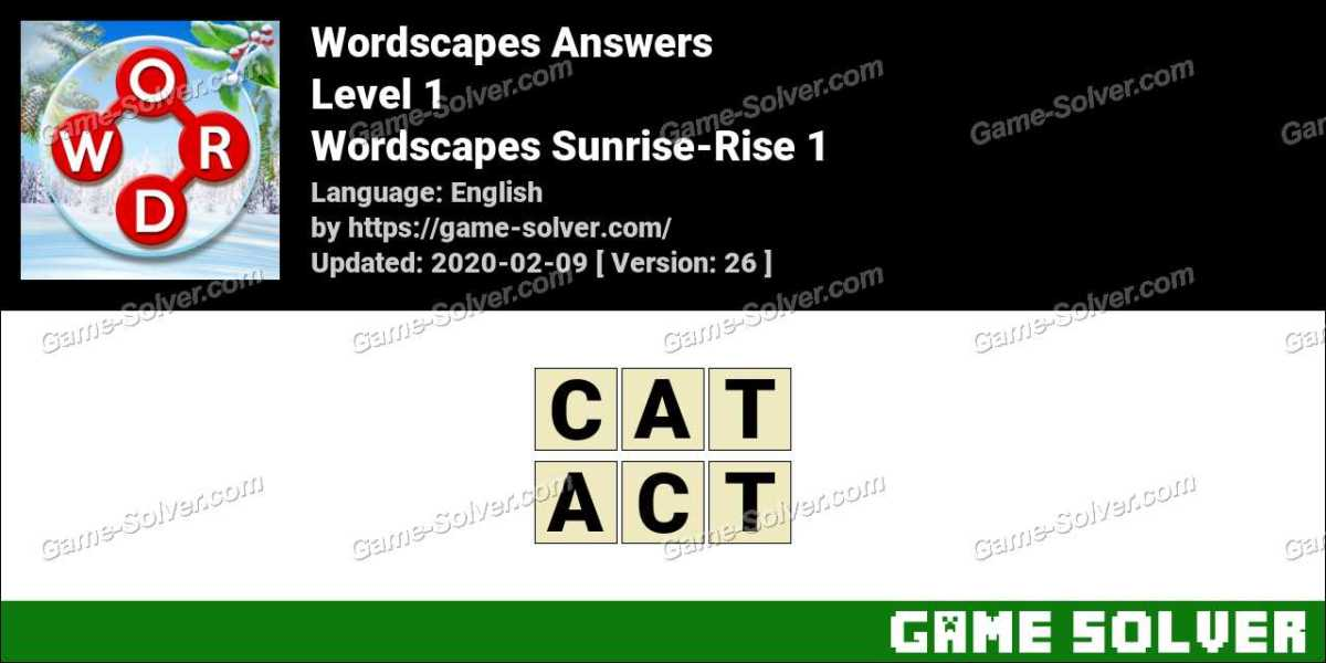 Wordscapes Sunrise-Rise 1 Answers