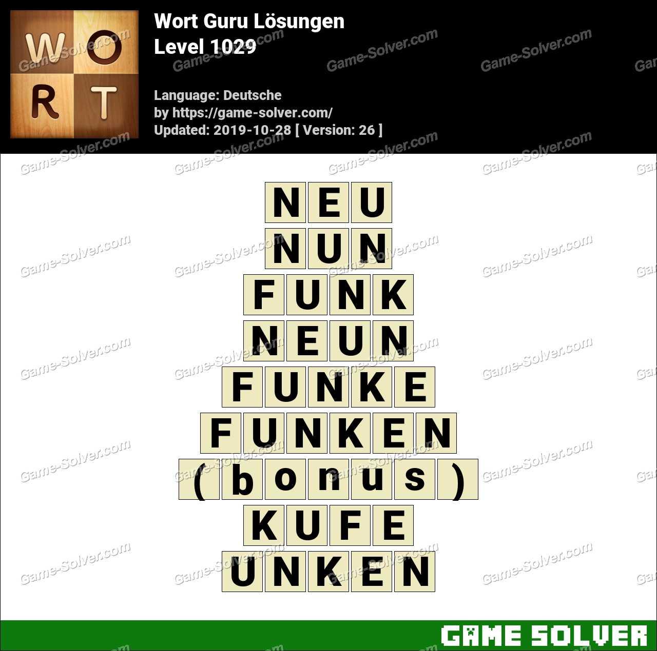 Wort Guru 864