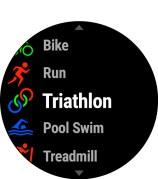 Carreras, sprints, natación, ciclismo, triatlón