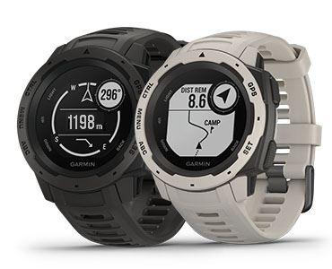 Instinct Graphite Garmin GPS Watch