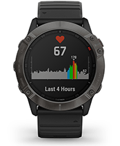 fēnix 6X Pro & Sapphire with heart rate screen