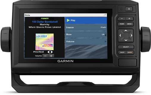 ECHOMAP UHD 62cv with NMEA screen
