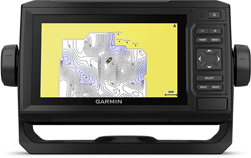 ECHOMAP UHD 62cv with QuickDraw screen