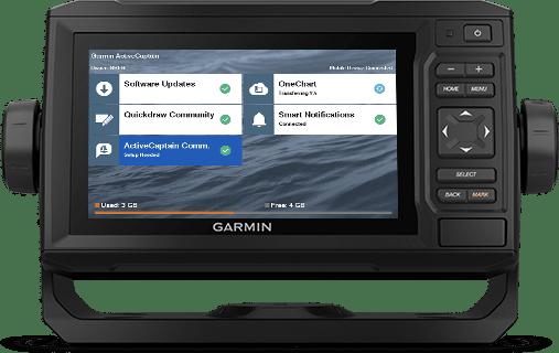 ECHOMAP UHD 62cv with ActiveCaptain screen