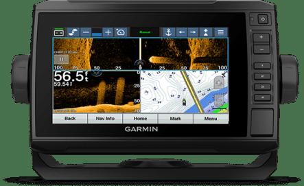 ECHOMAP UHD 75cv with trolling motor screen