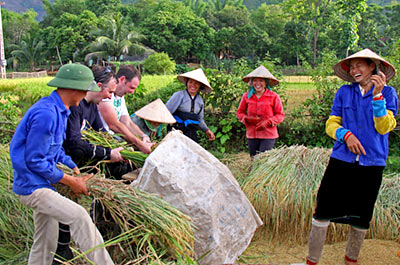 Boat Trip on the Thu Bon River & Organic Village with lunch Thumbnail