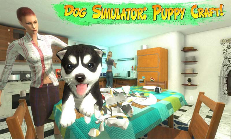 Free Dog Simulator Puppy Craft APK Download For Android