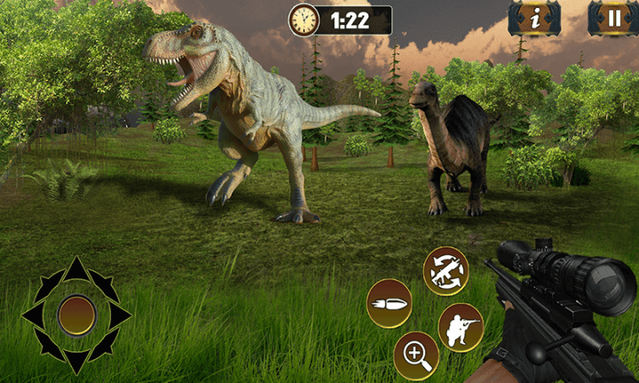 Free Ultimate Dino Hunting 2018   Dinosaur Safari Games APK Download     Ultimate Dino Hunting 2018   Dinosaur Safari Games screenshot 2 5