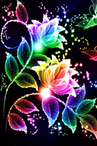 Free Flowers Coloured Crazy Glitter APK Download For Android   GetJar Flowers Coloured Crazy Glitter screenshot 2 3