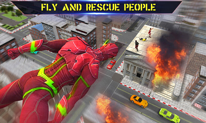 Free Flash Superhero Games   Super Light Crime City 3D APK Download     Flash Superhero Games   Super Light Crime City 3D screenshot 4 6