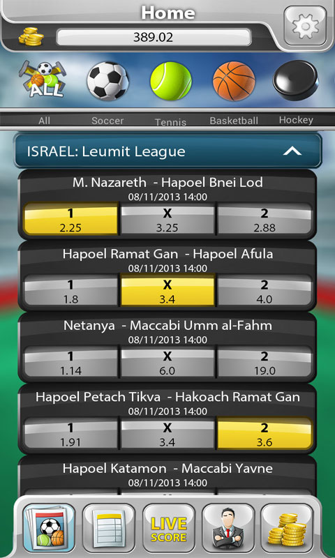 Free Bookie Sports Betting Game APK Download For Android GetJar