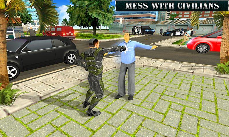 Free Rope Hero City Crime APK Download For Android GetJar