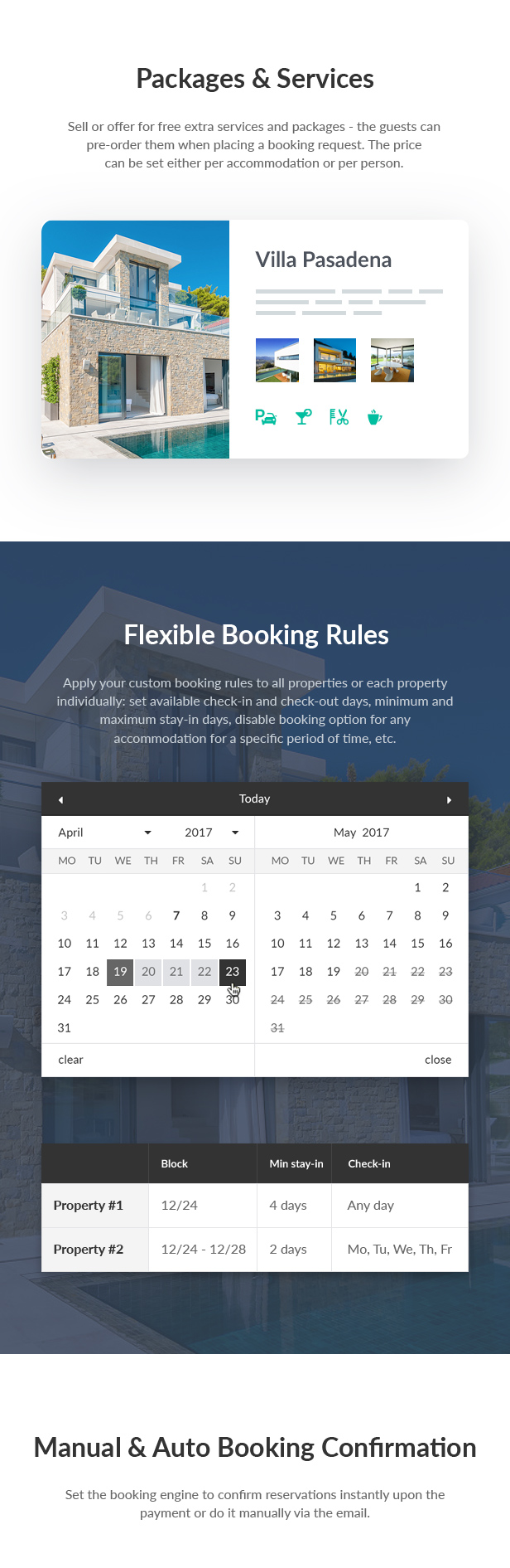 Vacation Rental WordPress Theme - Villagio - 5