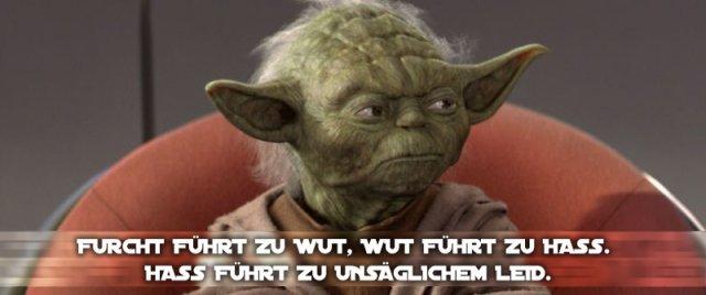 Spruch Yoda