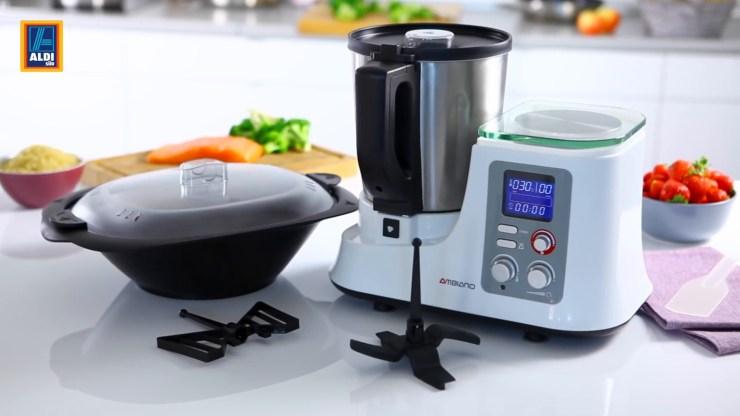 Ambiano Küchenmaschine Bedienungsanleitung 2021