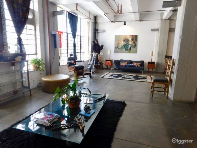 The Event E Warehouse Commercial Large Open Loft With View For