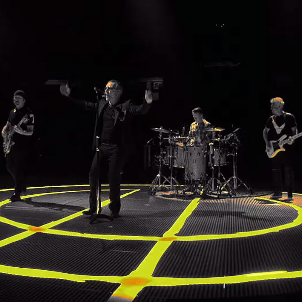 U2 tour stage for Songs Of Innocence preview video - watch and tickets