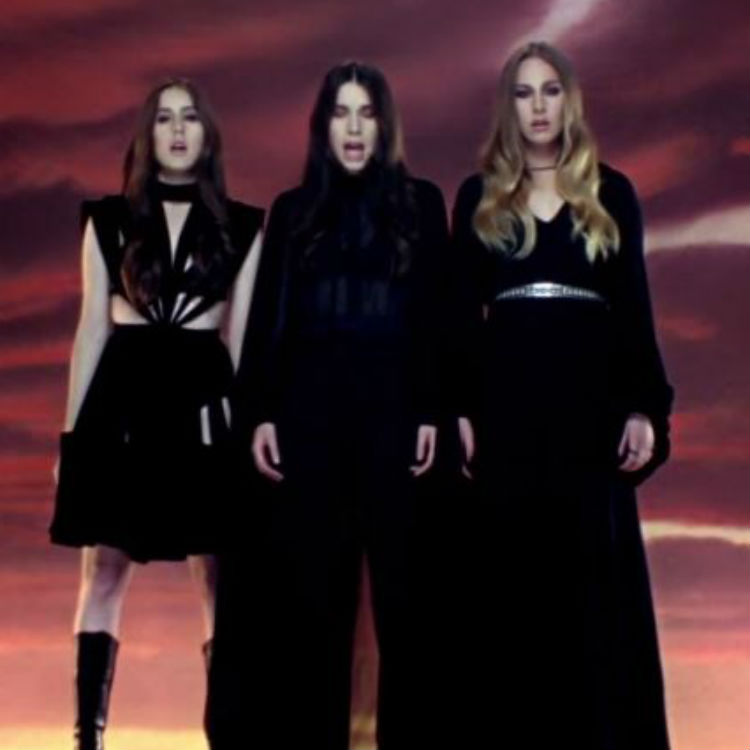 Calvin Harris featuring HAIM Pray To God video debuts online - watch