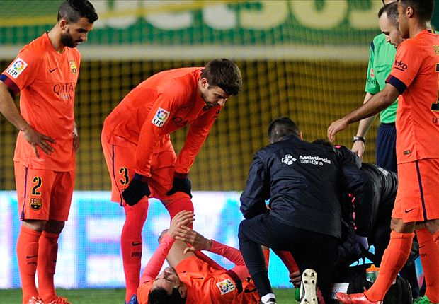 Busquets blow dampens Barcelona's Copa cheer