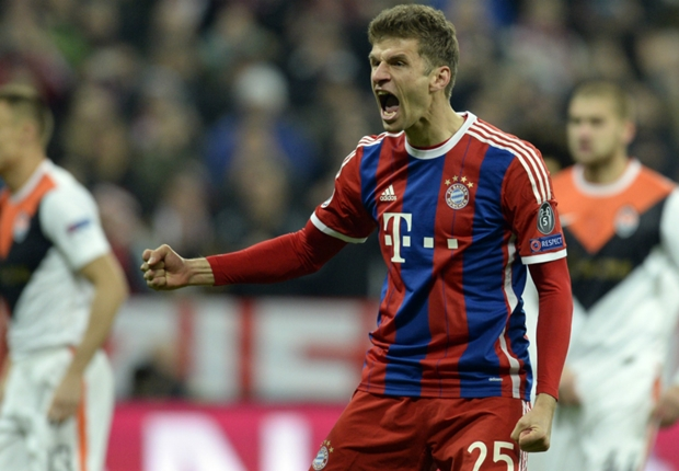 Bayern Munich 7-0 Shakhtar Donetsk: Guardiola's side run riot after Kucher's record red