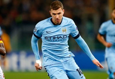 Official: Dzeko completes Roma switch