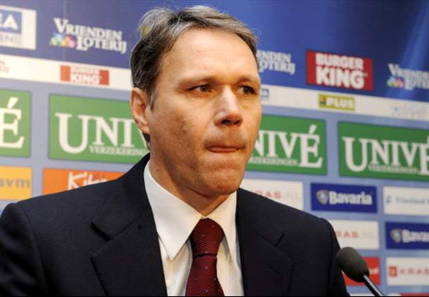 Image result for pic of van basten in suit
